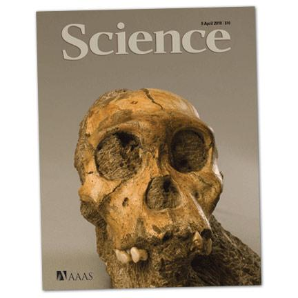 Science Magazine cover from April 2010