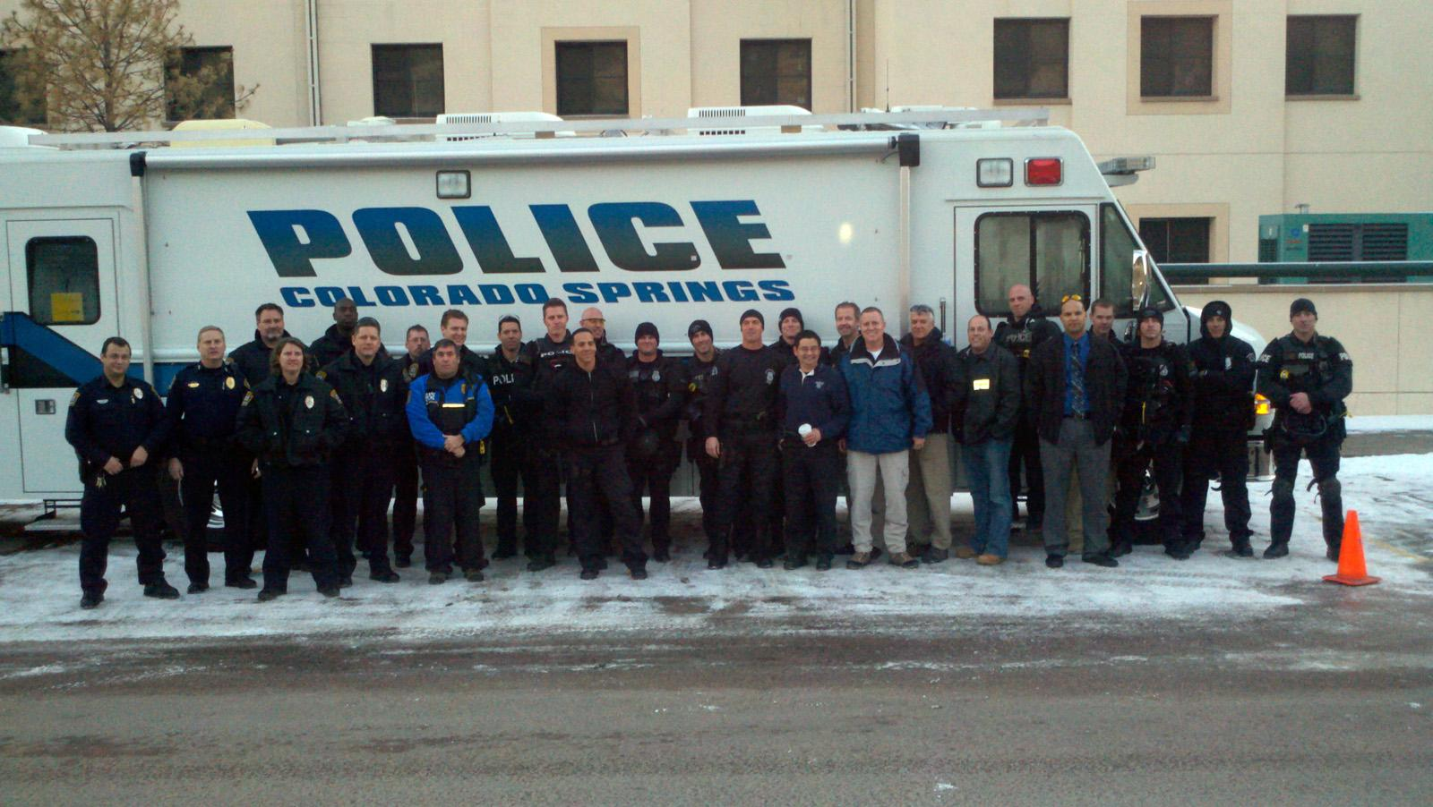 police department hosts crisis negotiation and tactical training
