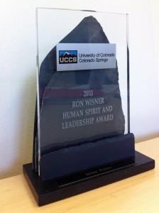 2011 Ron Wisner Award