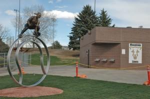 Installed sculpture