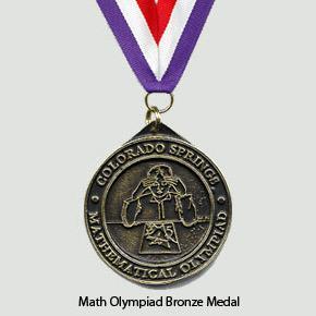 Math Olympiad Bronze Medal