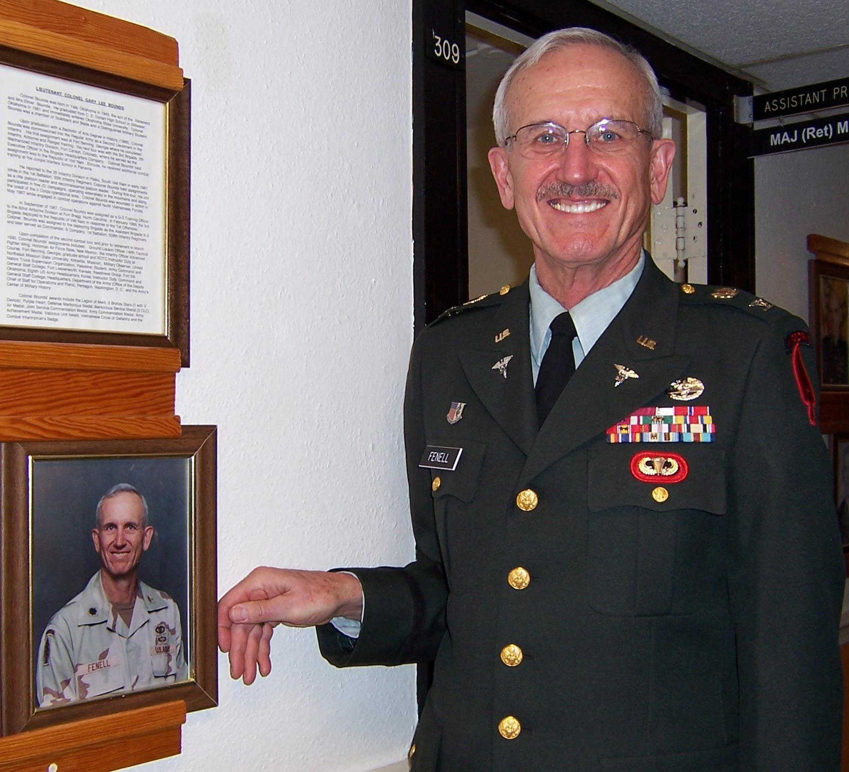Portrait of David Fenell