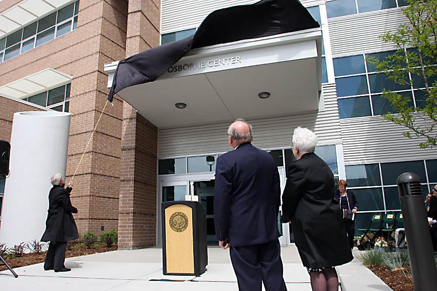 Osborne Center unveiling