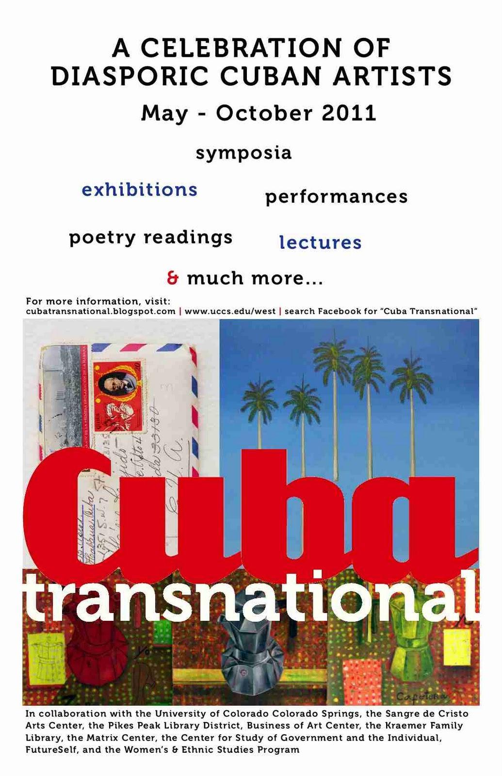 Cuba Transnational event poster