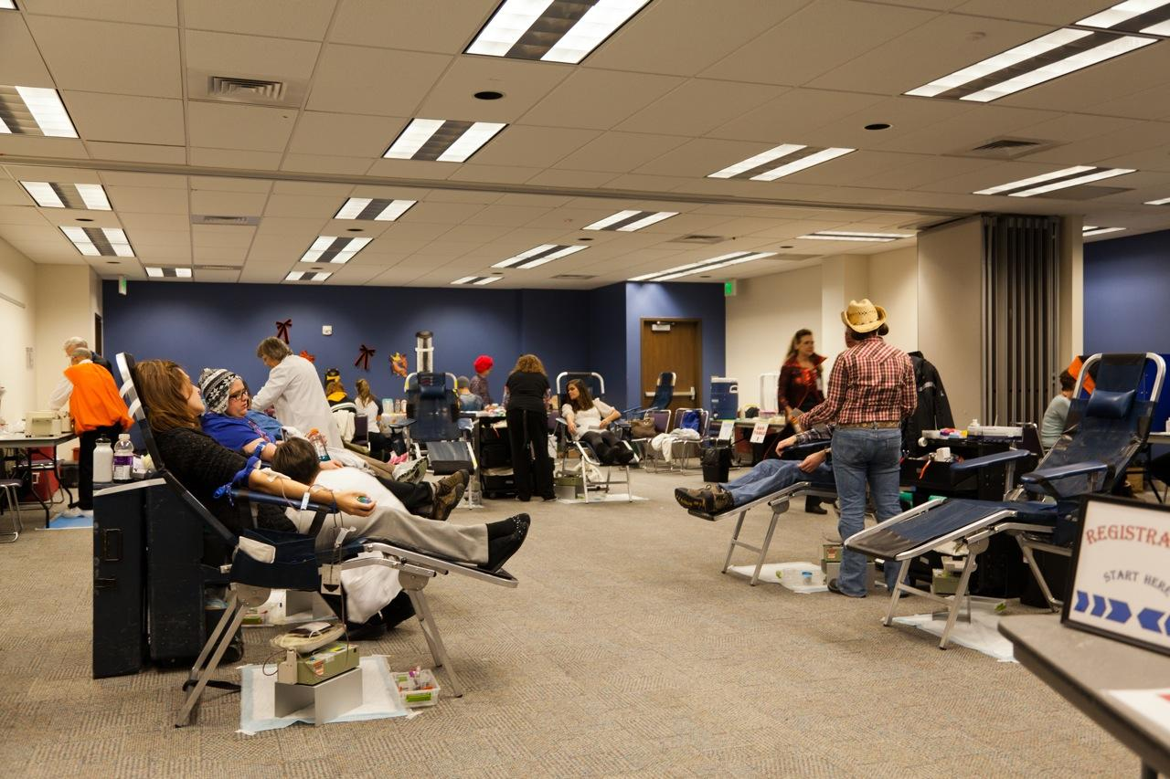 Blood Drive room