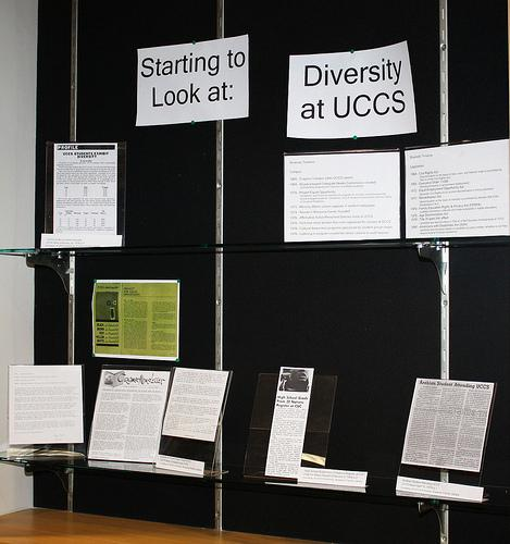 Starting to Look at Diversity at UCCS display