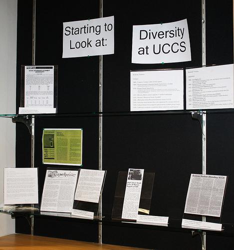 Starting to Look at Diversity at UCCS display