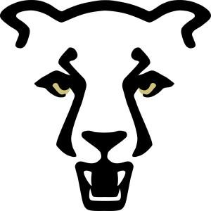 UCCS athletics mountain lion logo