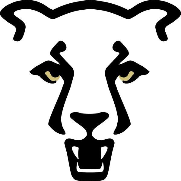 UCCS athletics mountain lion logo