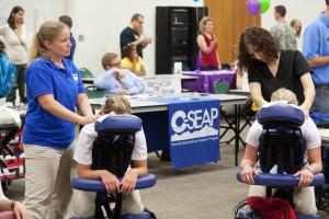 Chair massages will be offered at this year's Health Fair.