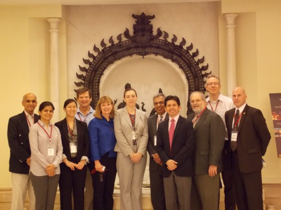 The IEE delegation to India.