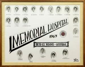 Beth-El College of Nursing class of 1963 to return to campus, Memorial Hospital
