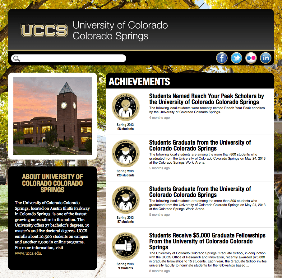 Colorado Springs Shooting Uccs: UCCS Celebrates Student Success Through Merit Pages