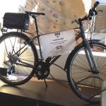 Prizes range from locks and air pumps to jerseys and even this commuter bike