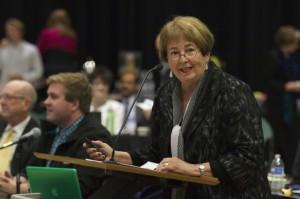 Chancellor charts UCCS progress for CU Regents