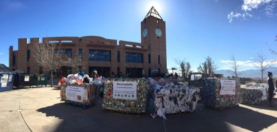 Photo feature: Mount Trashmore raises awareness for campus sustainability efforts
