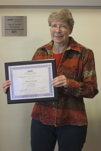 Taylor named Employee of the Quarter