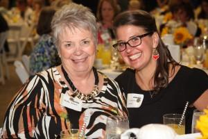Students and donors connected at the 2015 Karen Possehl Women's Endowment luncheon May 20