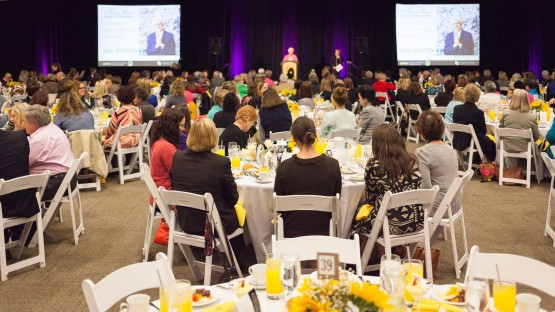 More than 400 attended the Karen Possehl Women's Endowment Luncheon May 20