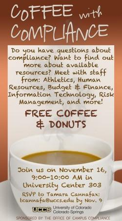 Coffee with ComplianceUpdated