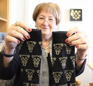 The first 400 donors of $5 or more a pair of socks that bear the UCCS Mountain Lion logo.