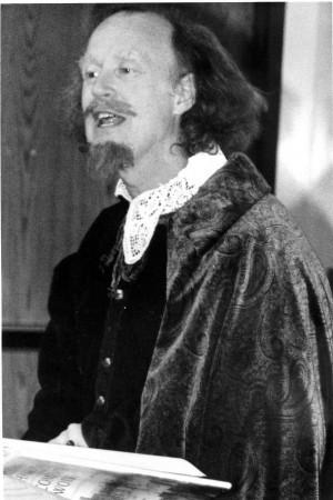 Murray Ross performs Shakespeare in the 1980s