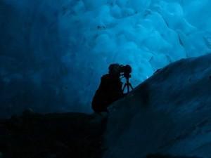 "Nina Elder ""In the Glacier"" Photo by Jeremy Pataky"