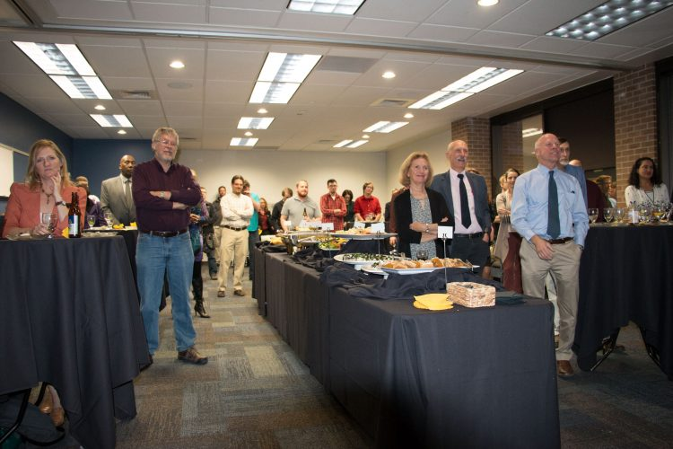 Celebration of Zbigniew Celinski, honored as distinguished professor, 2016. Photo by Tom Hutton, University of Colorado