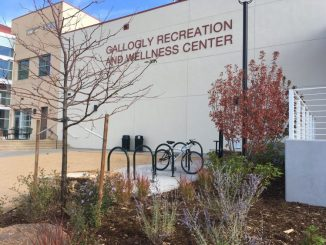 Exterior of Gallogly Recreation and Wellness Center