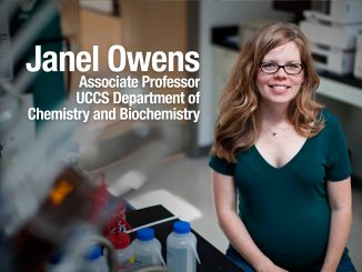 Janel Owens, Associate Professor, UCCS Department of Chemistry and Biochemistry