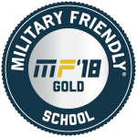 Military Friendly 2018 Gold Seal