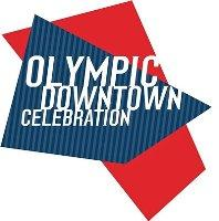 Olympic Downtown Celebration logo