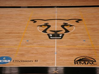 Center court of the UCCS Events Center