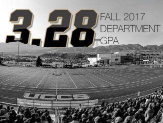 UCCS student-athletes earned a collected 3.28 GPA in fall 2017