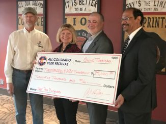 The All Colorado Beer Festival donates $25,000 to UCCS Theatreworks on Giving Tuesday