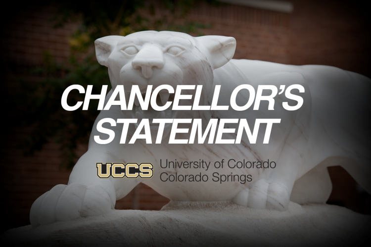 Chancellor's Statement