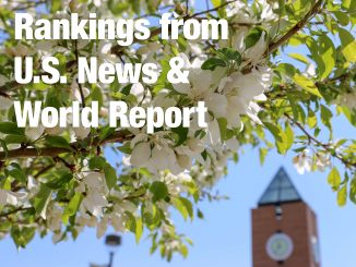 Graphic for U.S. News & World Report ranking