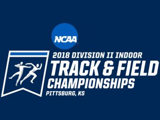 Logo of 2018 Division II INdoor Track & Field Championships
