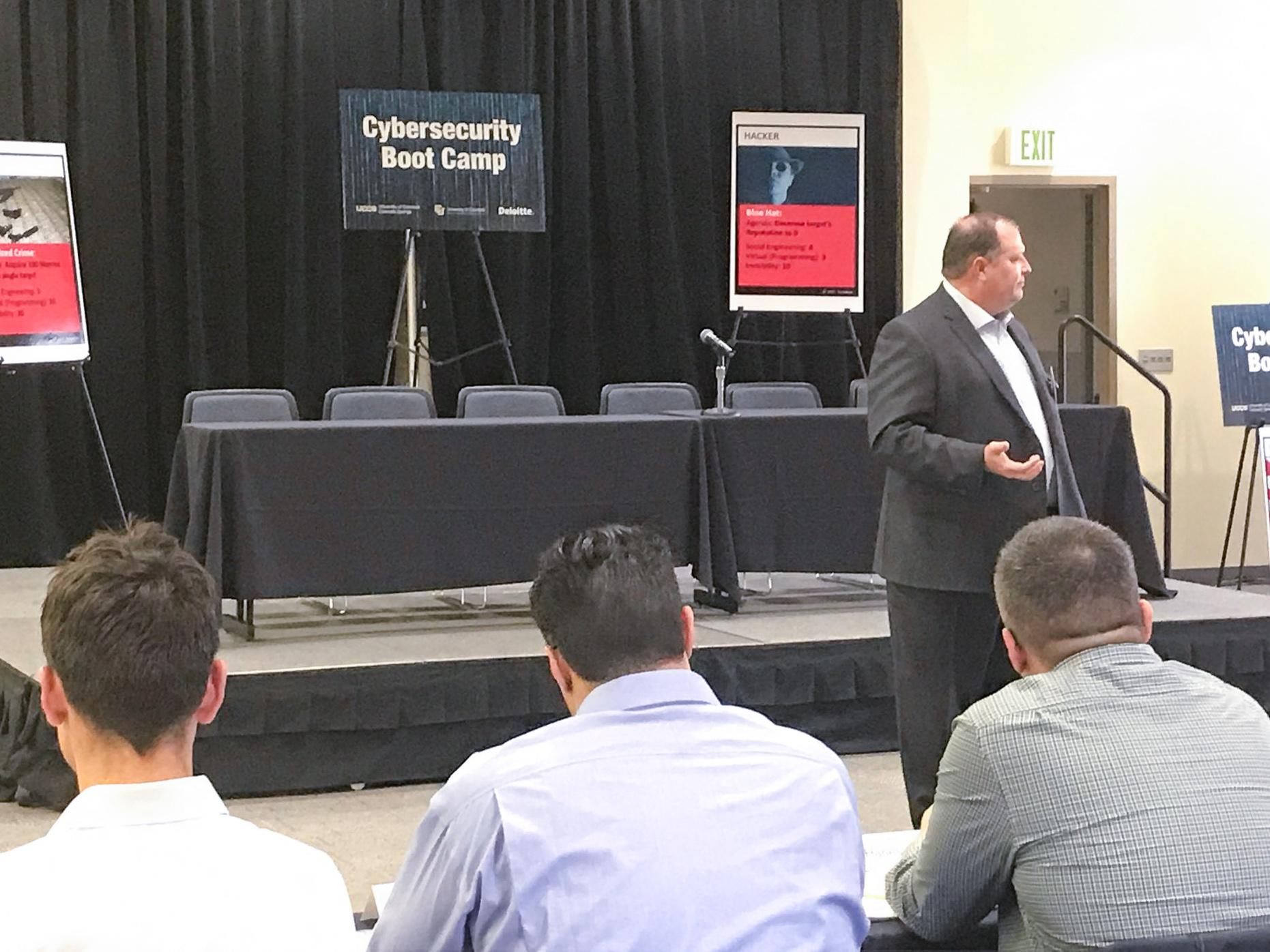 Students learn from industry experts in Third Cybersecurity