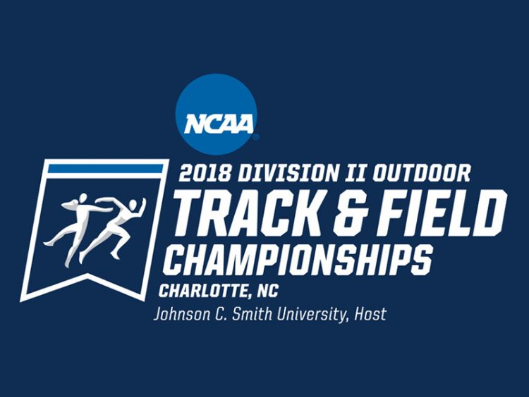 2018 NCAA track and field championships logo