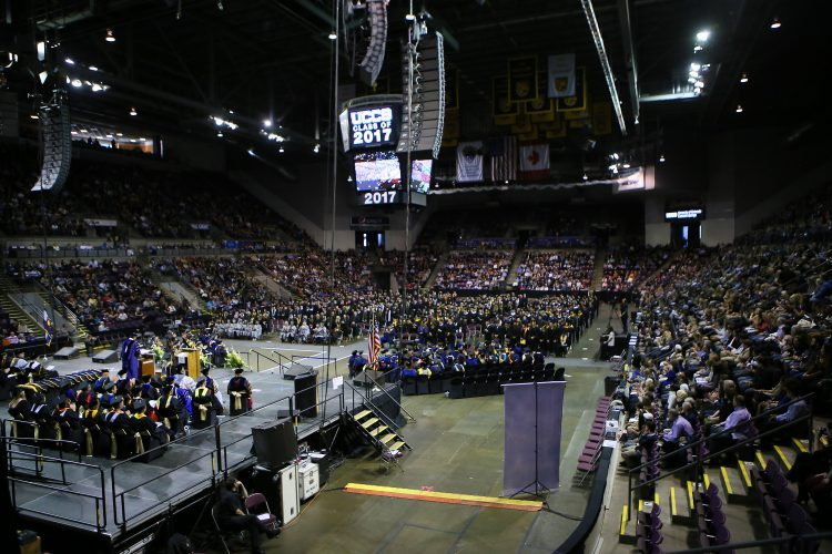 Photo from December 2017 commencement