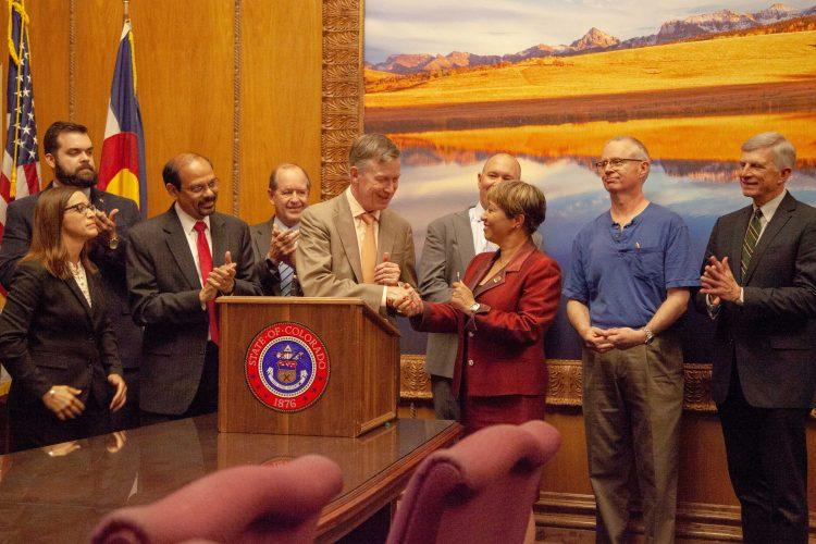 Governor John Hickenlooper signs SB 18-086