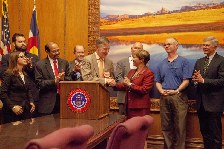 Governor John Hickenlooper signs SB 18-086