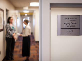 Aging Center reception area