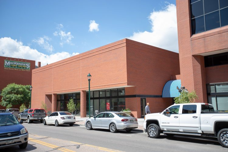 UCCS Downtown location at 102 south Tejon street