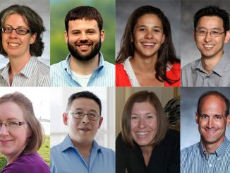 Headshots of eight UCCS faculty members awarded tenure