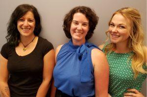 Photo of Alisa Bartel, Amanda Devane and Dani Correll