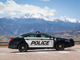 UCCS police car