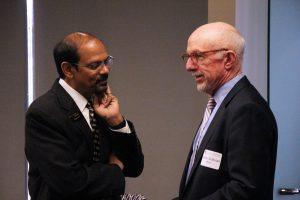 Chancellor Reddy with Gene Sullivan