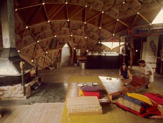 Interior of Tony and Marilyn's Dome